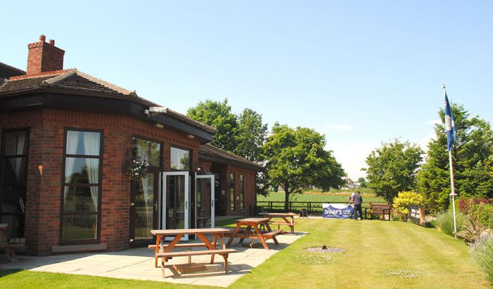 lawns at clubhouse